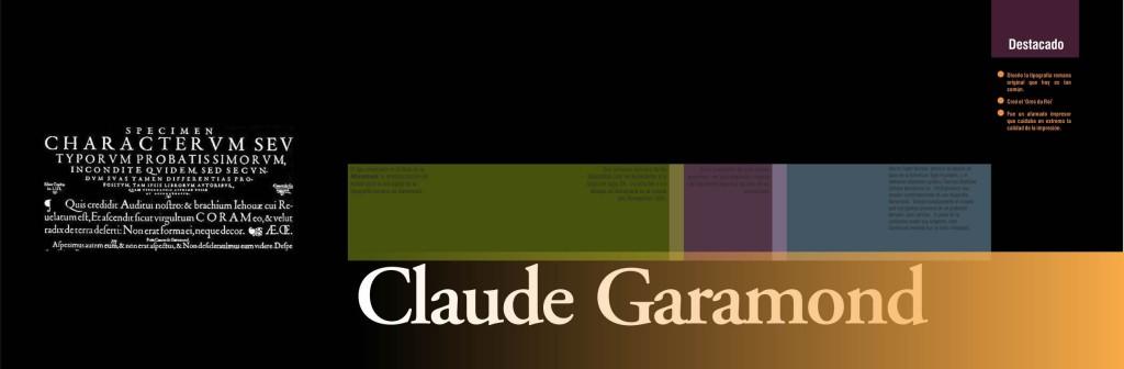 Maquetació de llibre - Coberta de capitol - Claude Garamond