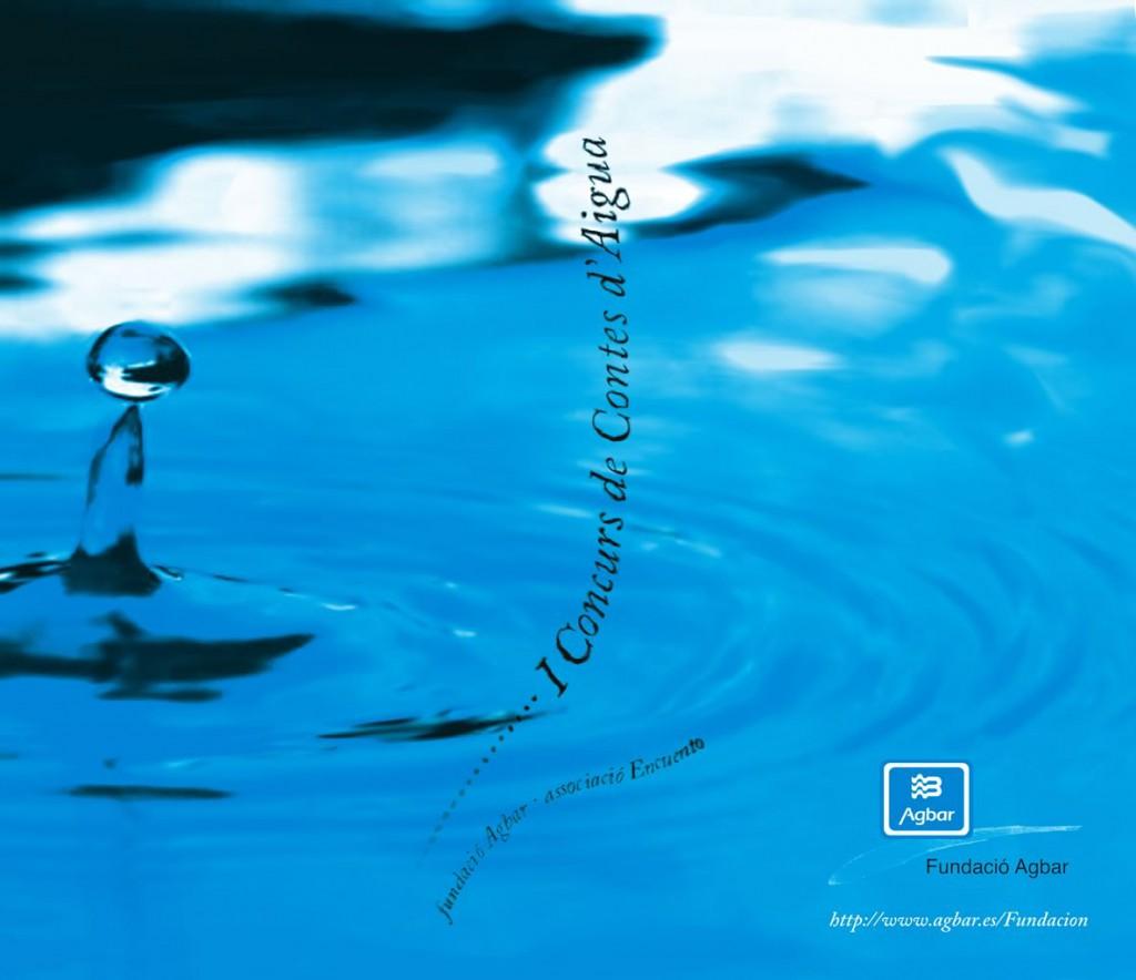 Portada Llibre I Concurs de Contes d'Aigua
