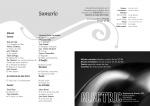 Maquetació de doble pàgina del Sumari de la revista Siwsiwez nº 2